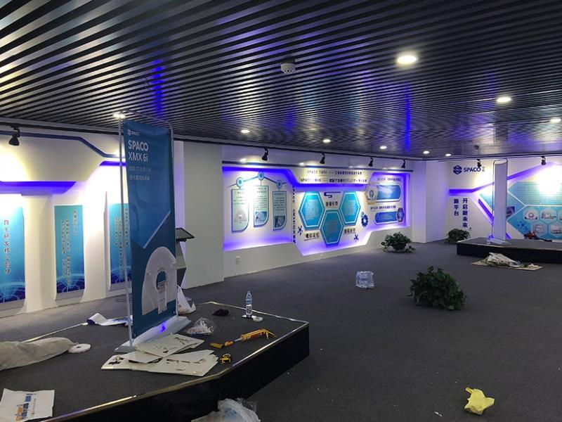 展示厅形象墙设计制作
